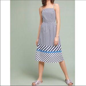 Anthropologie Eri + Ali | Striped Midi Dress